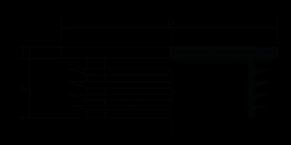 H510 Quadratstopfen