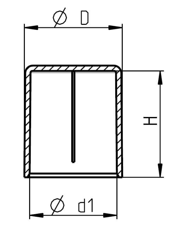 H 350 Rohrschutzkappen