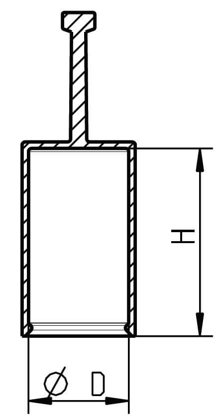 H 611 Flexible Griffkappen