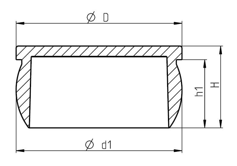 H 150 Typ S Closure Plugs