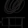 H 210 Universalschutzstopfen mit Ringlasche