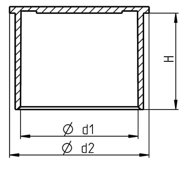 H 361 Flexible Rändelschutzkappen