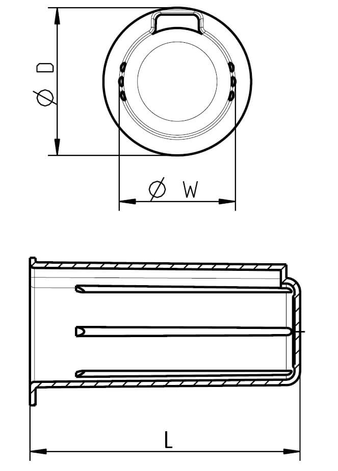 H 380 Wellenschutz