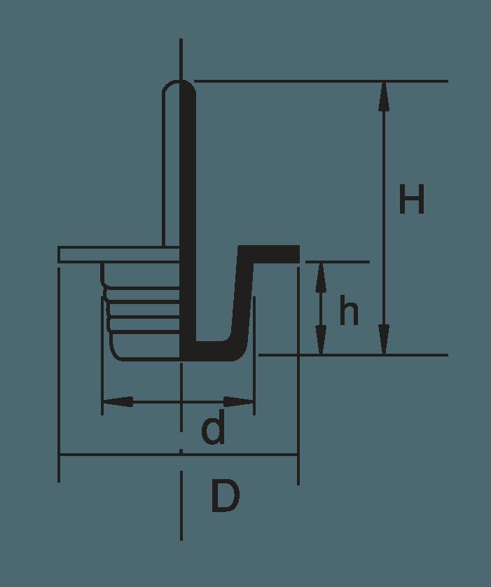 H 831 Grip Plugs